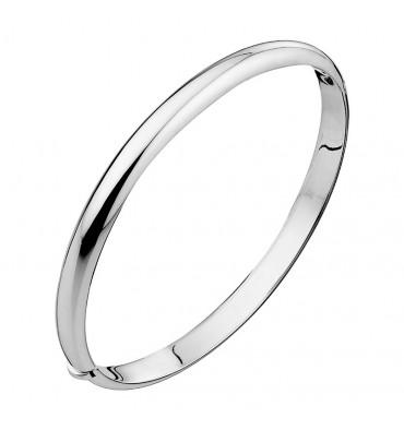 Bracelet jonc ovale-CANYON en argent 925/1000-E-Shop bijoux-totem.fr