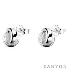 Boucles d'oreilles tiges puces-CANYON. E-Shop bijoux-totem.fr