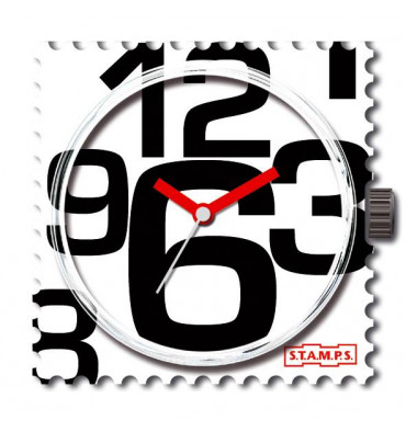 Cadran de montre-STAMPS In Good Time. E-Shop bijoux-totem.fr