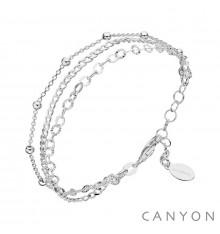 Bracelet 3 rangs-CANYON en argent 925/1000-E-Shop bijoux-totem.fr