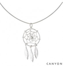 Collier Dream Catcher-CANYON en argent 925/1000 CANYON-E-Shop bijoux-totem.fr