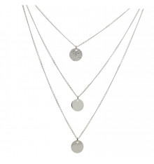 DORIANE-Argent 925-collier-bijoux totem.
