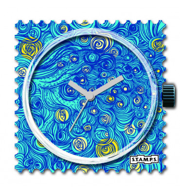 Stamps-Midnight in Paris-cadran-bijoux totem.