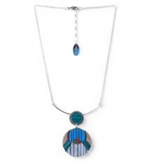 Nature bijoux-Khatam Silver-collier-bijoux-totem.