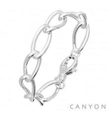 CANYON-Argent 925-bracelet-bijoux totem