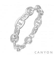 CANYON-Argent 925-bracelet-bijoux totem.
