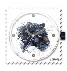Stamps-panther-cadran-montre-bijoux totem