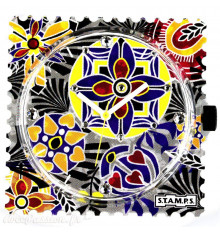 Stamps-next variation diamond-cadran-montre-bijoux totem.