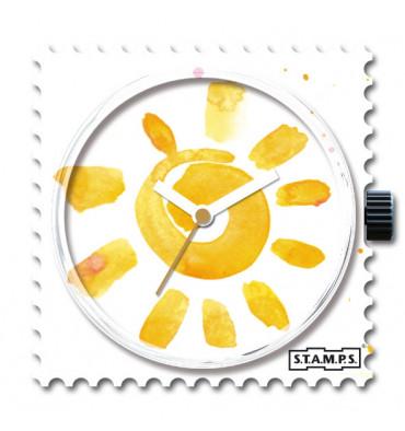 Stamps-happy banana-cadran-montre-bijoux totem.