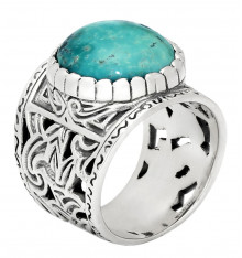 jalan jalan-bague-argent 925-turquoise-bijoux totem.