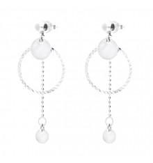 DORIANE-Argent 925-boucles d'oreilles-sweet candy-bijoux totem.