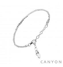 canyon-bracelet-chaine diamantée-argent 925-bijoux totem.