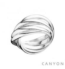 canyon-bague-6 anneaux-argent 925-bijoux totem.CANYON Bague.