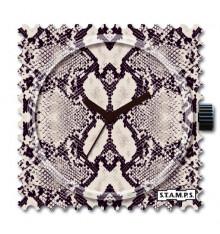 Stamps-snake skin-cadran-montre-bijoux-totem.fr